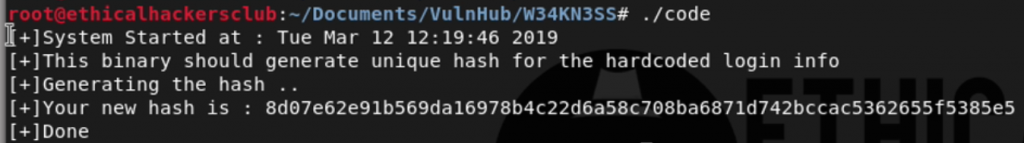 W34kn3ss Level 1 (VulnHub): Complete Walkthrough and Guide
